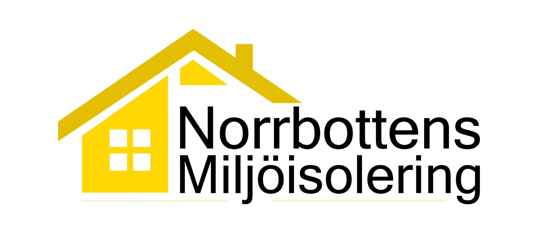 Logotyp NorrbottensMiljisolering gul