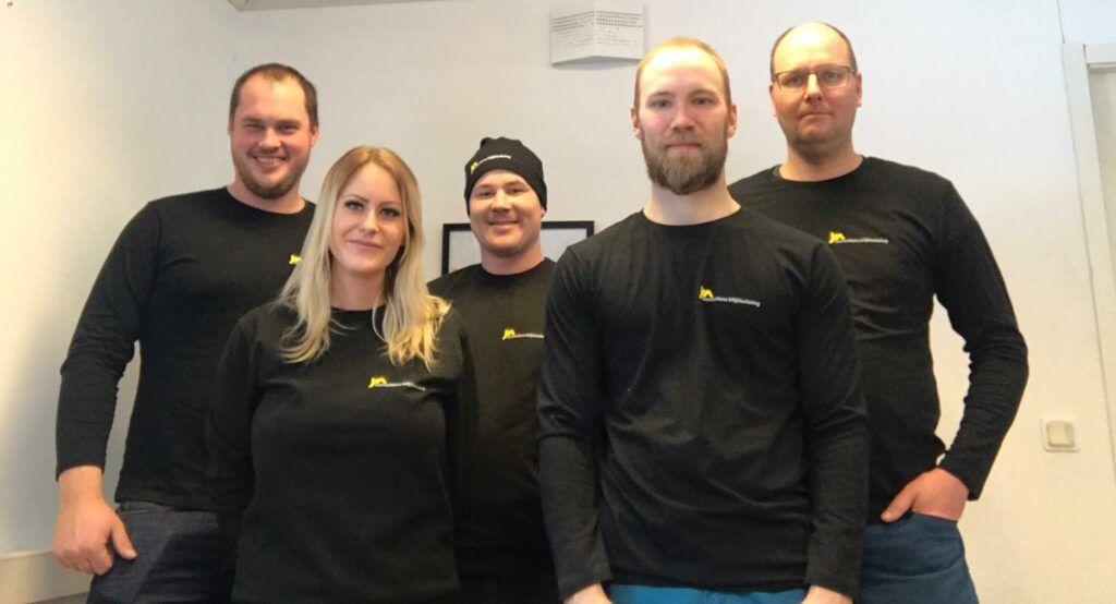Personal på Norrbottens Miljöisolering