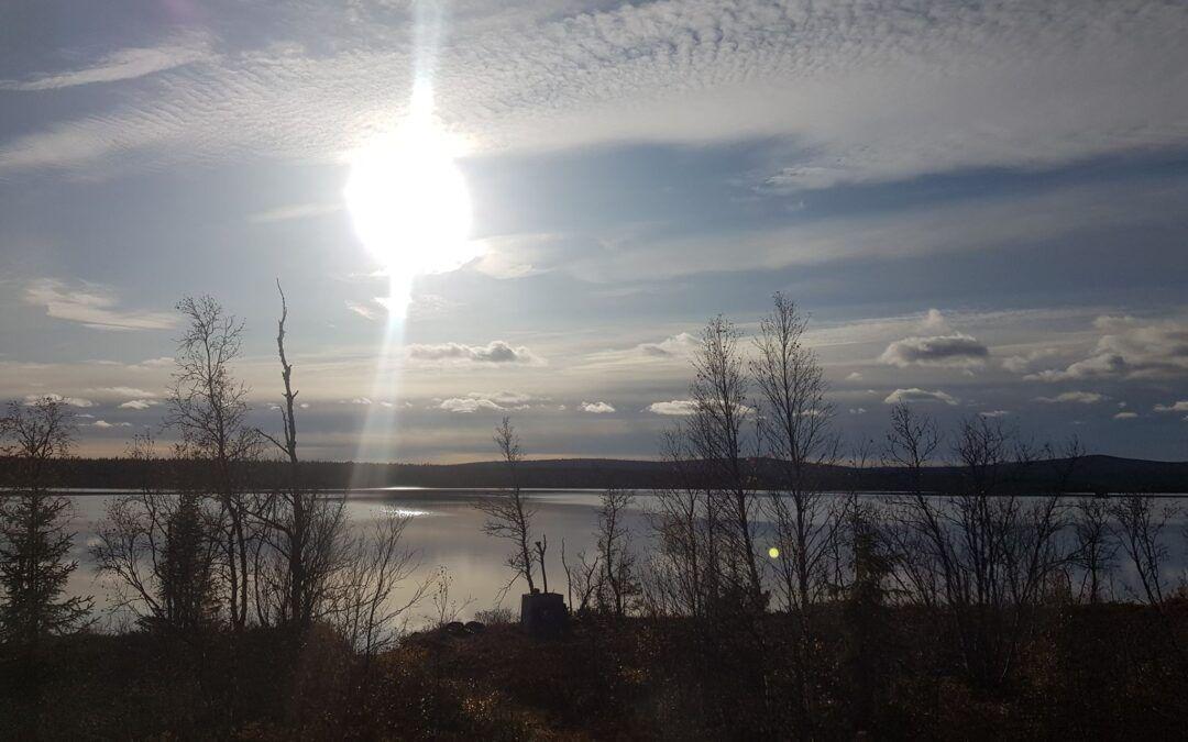 Isolering av öppet vindsbjälklag i Kiruna