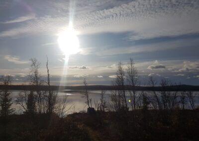 Isolering av öppet vindsbjälklag i Kiruna 3