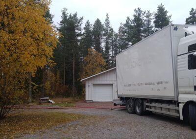 Isolering från Gällivare till Piteå i veckan 7