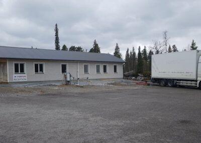 Isolering personalbyggnad Kvikkjokk 4