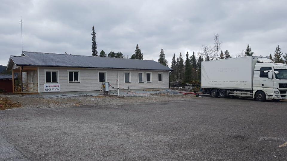 Isolering personalbyggnad Kvikkjokk 1
