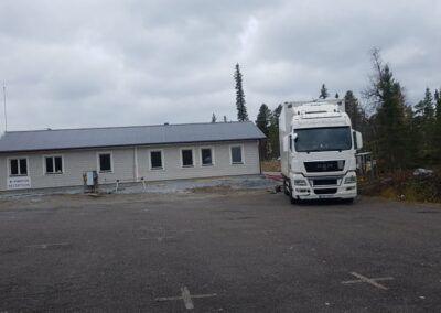 Isolering personalbyggnad Kvikkjokk 5