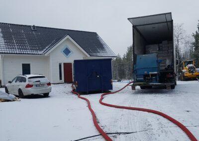 Isolering från Gällivare till Piteå i veckan 1