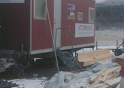 Isolering från Gällivare till Piteå i veckan 5