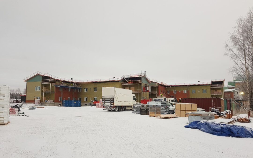 Isolering av sunderbysjukhus