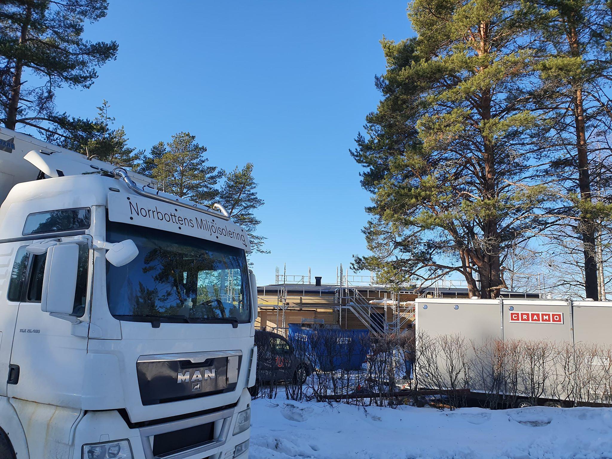 Isolering Piteå med sjöutsikt 1